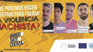 Photo of #AmigoDateCuenta: la campaña que le habla a los varones para frenar la violencia de género