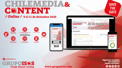 Photo of Inscripciones abiertas para Chile Media & Content Online 2020