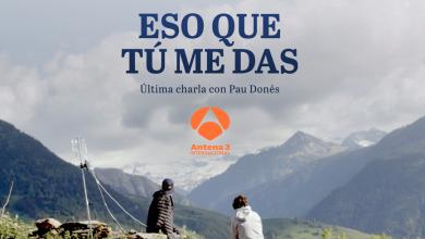 Photo of Antena 3 Internacional estrena el documental 'Eso que tú me das', la última charla entre el cantante Pau Donés y Jordi Évole